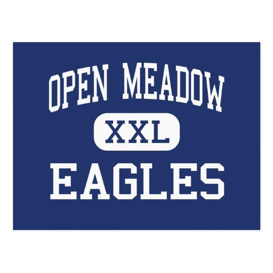 Open Meadow Eagles Middle Portland Oregon Postcard