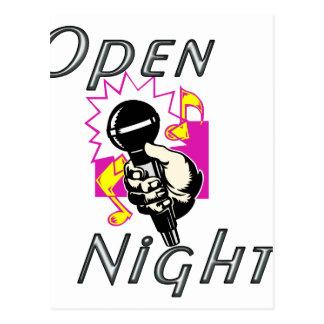 Open Mic Night Postcard