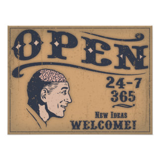 Open Minded Poster
