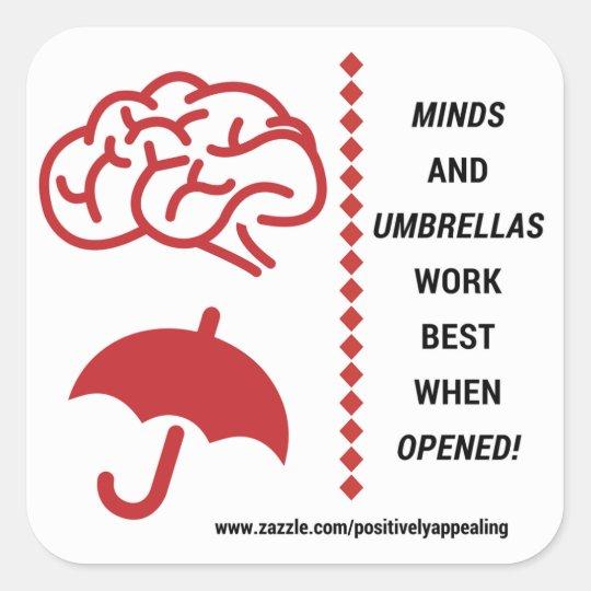 Open Minds Sticker