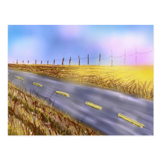 """Open Road"" Postcard"