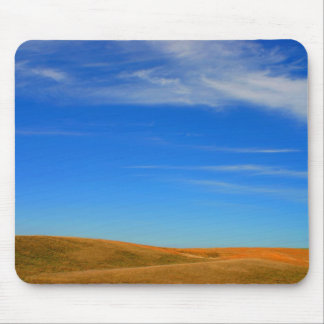 Open sky and field mousepad