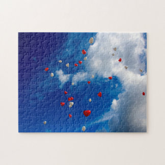 Open Sky with Balloons Puzzle