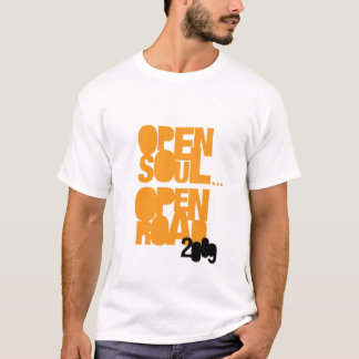 Open Soul...Open Road '09 tour t-shirt