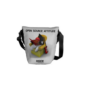 Open Source Student (Duke Java Book Comfy Chair) Commuter Bag