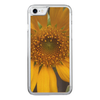 Open Sunflower Carved iPhone 7 Case