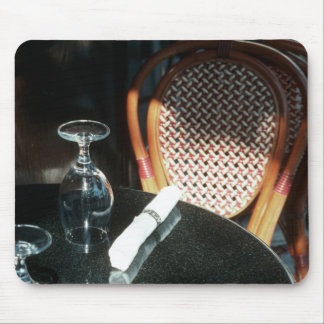 Open Table for Dinner Mouse Pad