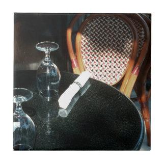 Open Table for Dinner Ceramic Tiles