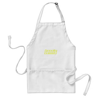 OPEN TENNIS ADULT APRON