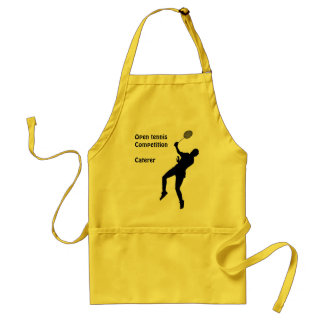 Open tennis competition, Caterer Aprons