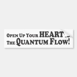 Open to the Quantum Flow - Bumper Sticker