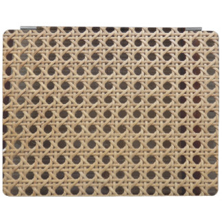 Open Weave Rattan Cane iPad Cover
