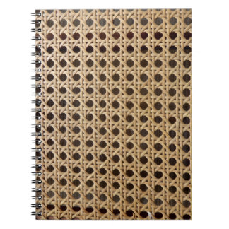 Open Weave Rattan Cane Photo Notebook