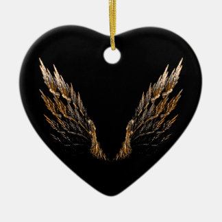 Open Wings Christmas Ornament