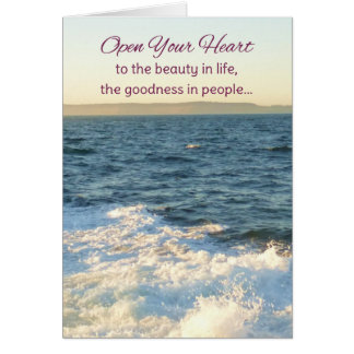 Open Your Heart...Inspirational Greeting Cards