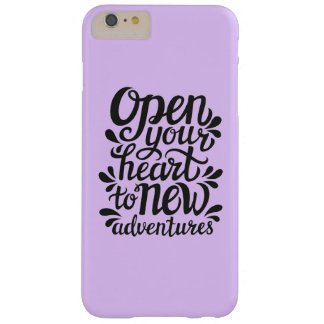 Open Your Heart To New Adventures Barely There iPhone 6 Plus Case