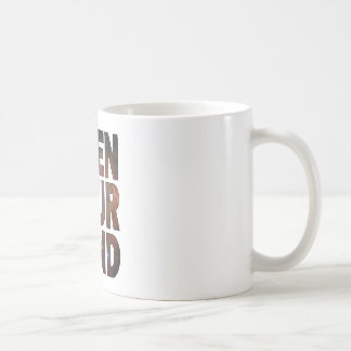 Open Your Mind Coffee Mugs