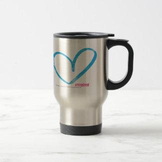 OpenHeart Aqua Travel Mug