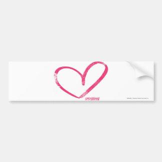 OpenHeart Magenta Bumper Sticker