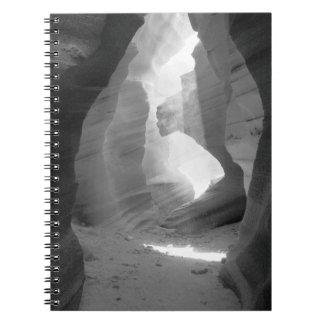 """""""Opening"""" Antelope Canyon Spiral Notebook"""