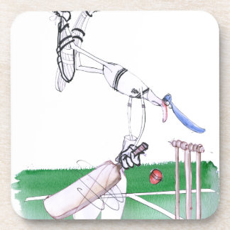 Opening Bat - cricket, tony fernandes Coaster