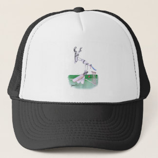 Opening Bat - cricket, tony fernandes Trucker Hat