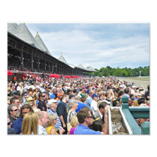 Opening Day at the Spa Photographic Print