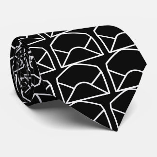 Opening Envelopes Pictograph Tie