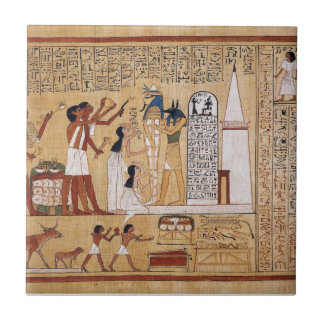 Opening of the Mouth Ceremony Book of the Dead Tile