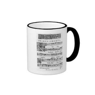 Opening page of the Mass for Double Choir Mugs