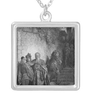 Opening scene of 'The Rime of the Ancient Silver Plated Necklace