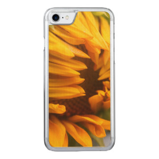 Opening Sunflower Carved iPhone 7 Case