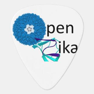 openZika guitar pick