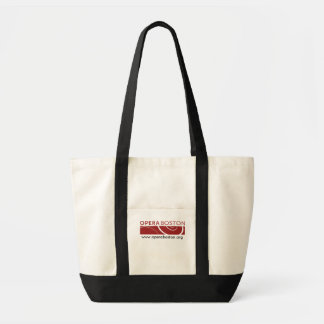 Opera Boston Canvas Logo Tote Bag