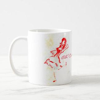 Opera Comique: Primadonna Mugs: Ah, Carmen! Basic White Mug