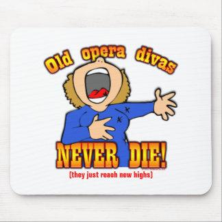 Opera Divas Mousepads