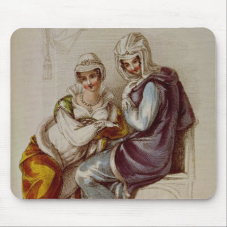 Opera dresses, Ackermann print, 1811 Mouse Mat