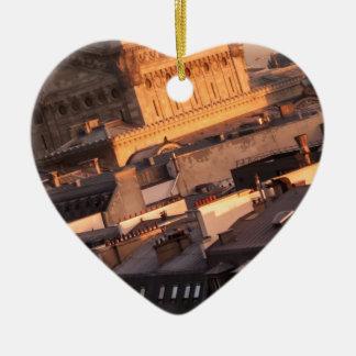 Opera Garnier, Paris, France Ceramic Heart Decoration