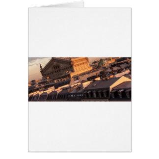 Opera Garnier, Paris, France Greeting Card
