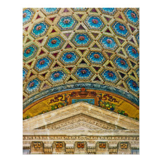 Opera House Ceiling, Budapest Poster