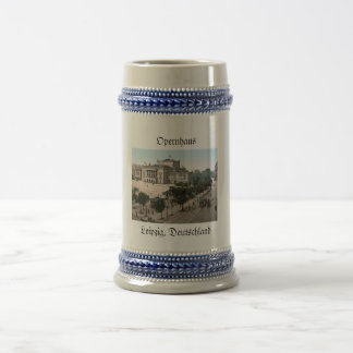Opera House, Leipzig, Germany 18 Oz Beer Stein