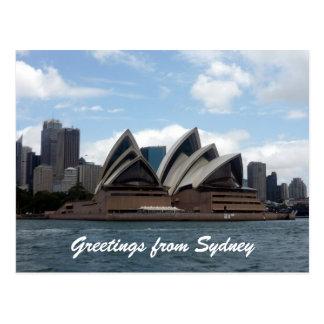 opera house postcard