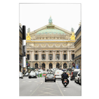 Opera in Paris, France Dry Erase Board