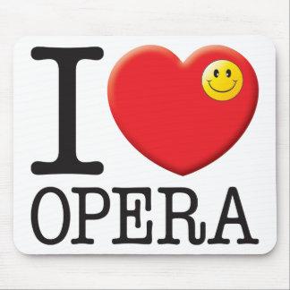 Opera Love Mousemats