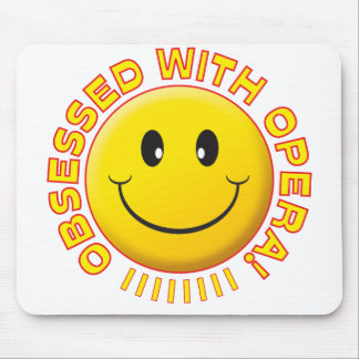 Opera Obsessed Smile Mousemat