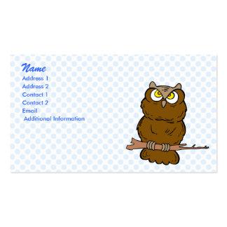 Opera Owl Business Card