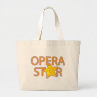 Opera Star Large Tote Bag