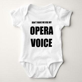 Opera Voice Baby Bodysuit