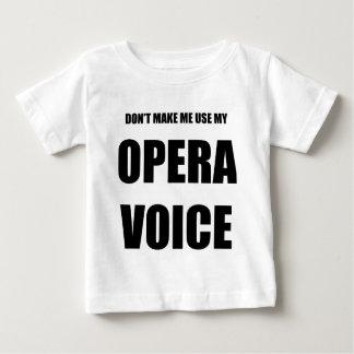 Opera Voice Baby T-Shirt