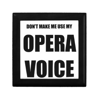 Opera Voice Gift Box